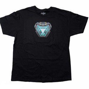 Marvel Avengers T Shirt XL Black Short Sleeve